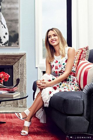 The rich and the famous : Jessica Alba's Gorgeous L.A. Guesthouse