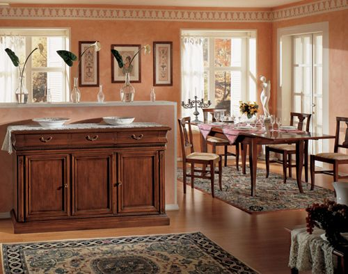 17 migliori immagini su soggiorno cucine su pinterest - Mobili classici moderni ...