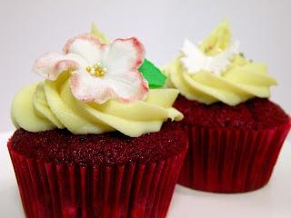 Heavenly Cupcake: Magnolia Red Velvet Cupcakes