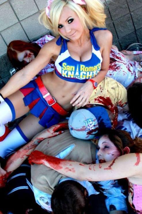 Lollipop Chainsaw - Juliet Starling by Jessica Nigri