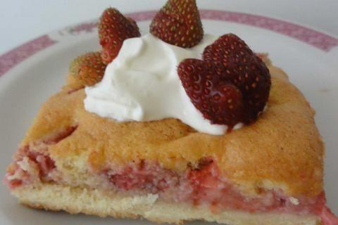 Jak upéct cukrářský jahodový koláč | recept