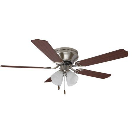25 best ideas about 52 inch ceiling fan on pinterest boys mainstays 52 inch ceiling fan with light kit satin nickel 17804 mozeypictures Choice Image