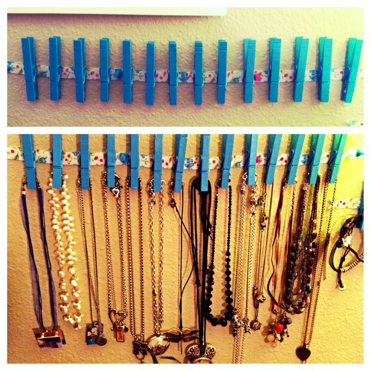 25 best ideas about diy necklace holder on pinterest