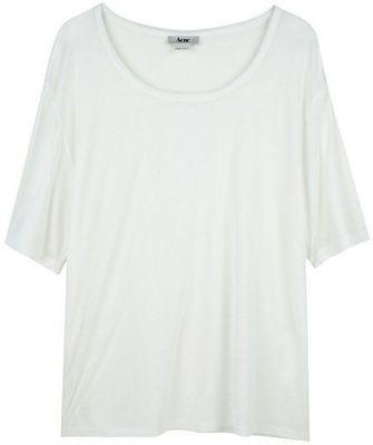 7. Acne Wonder T-Shirt - 9 Designer T-Shirts to Splurge on ... | All Women Stalk
