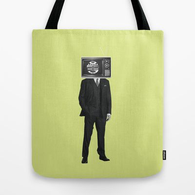 no signal Tote Bag by Klaff Design - $22.00