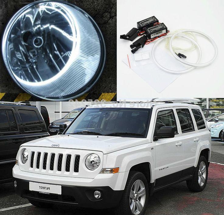 32.00$ Buy now - https://alitems.com/g/1e8d114494b01f4c715516525dc3e8/?i=5&ulp=https%3A%2F%2Fwww.aliexpress.com%2Fitem%2FFor-Jeep-Patriot-2007-2011-Excellent-angel-eyes-Ultra-bright-headlight-illumination-CCFL-Angel-Eyes-kit%2F32509246108.html - For Jeep Patriot 2007 2008 2009 2010 2011 2012 2013 Excellent angel eyes Ultrabright illumination CCFL Angel Eyes kit Halo Ring 32.00$
