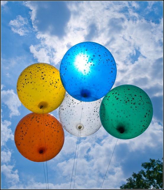 balloons - Central Park, New York