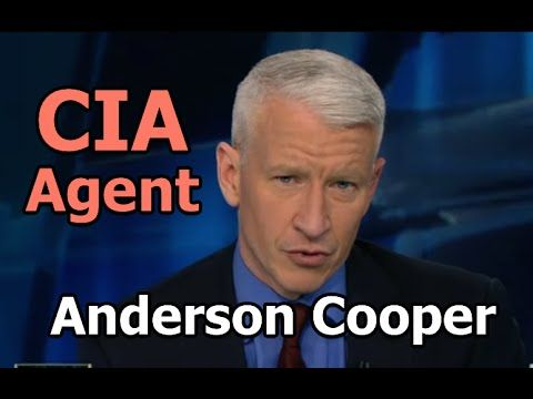 CNN's Anderson Cooper Admits Working for the CIA - Operation Mockingbird Asset Exposed!