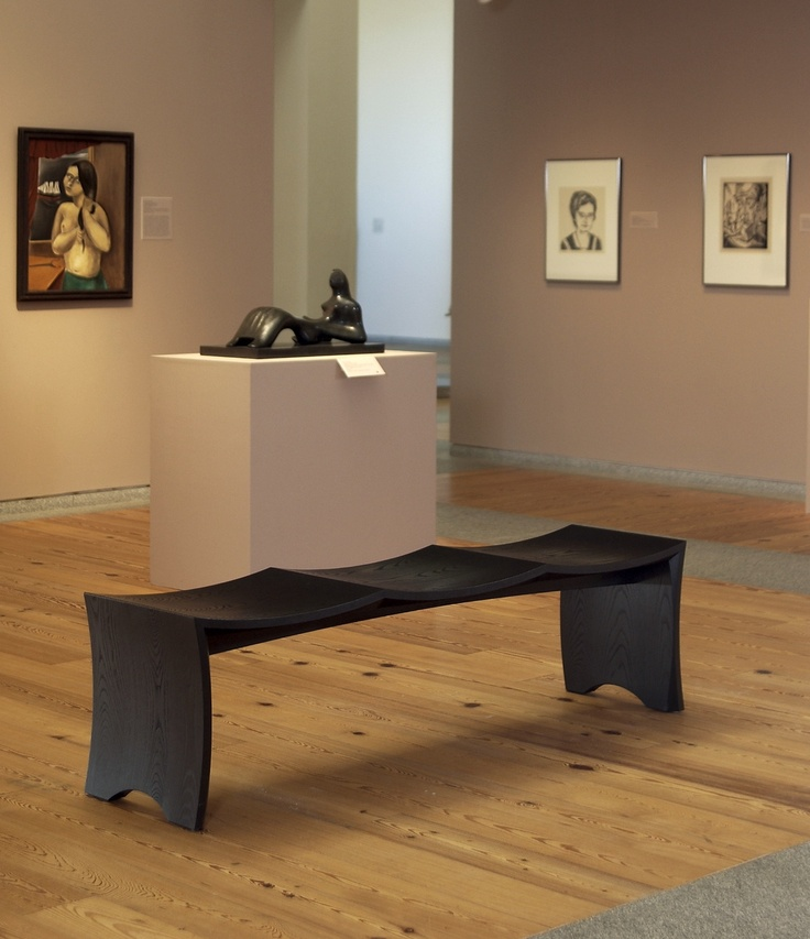 Museum Bench For 3