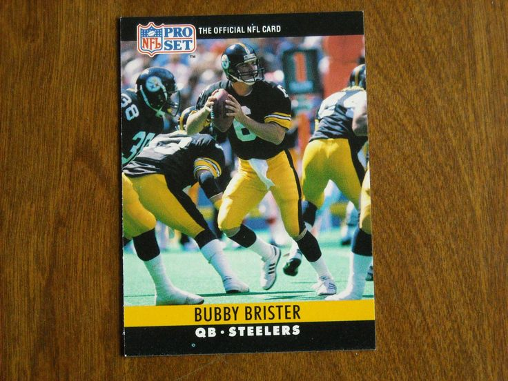 Bubby Brister Pittsburgh Steelers QB Card No. 267 (FB267) 1990 NFL Pro Set Football Card - for sale at Wenzel Thrifty Nickel ecrater store