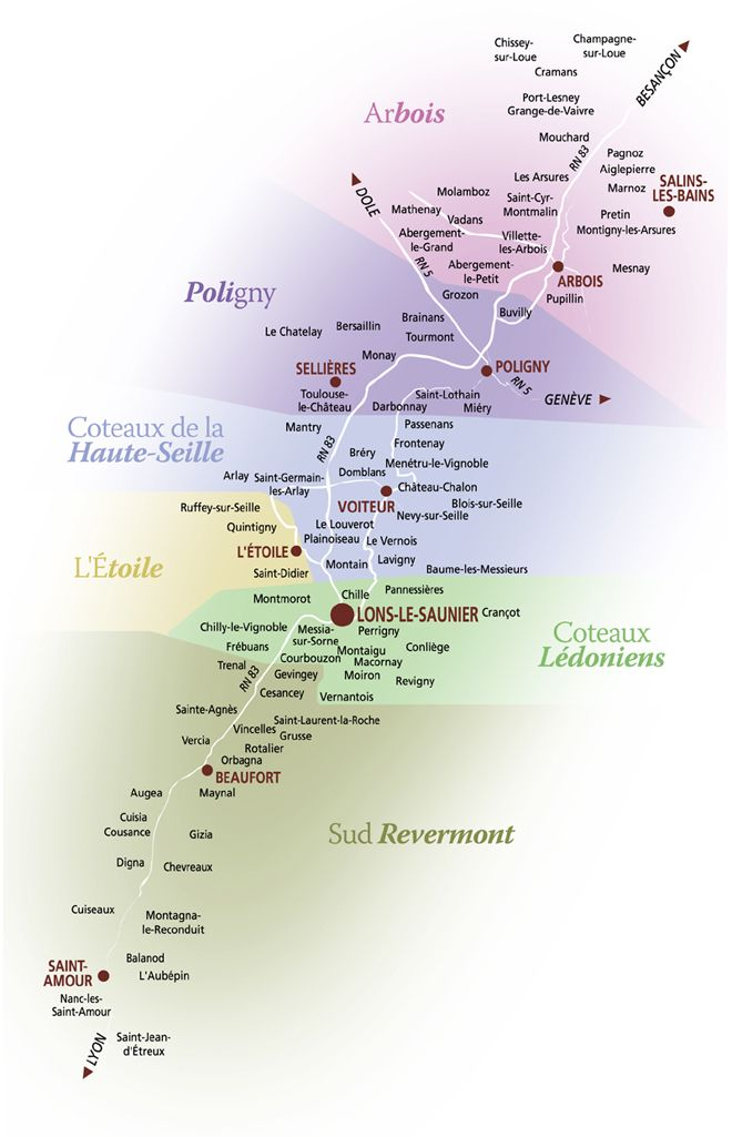 A primer on wines from the Jura