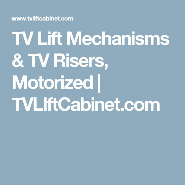 tv lift mechanisms tv risers motorized com m s de 25 ideas incre bles