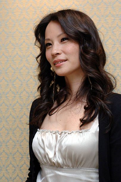 Lucy Liu during 'Lucky Number Slevin' Press Conference with Lucy Liu at Four Seasons in Beverly Hills, California, United States.