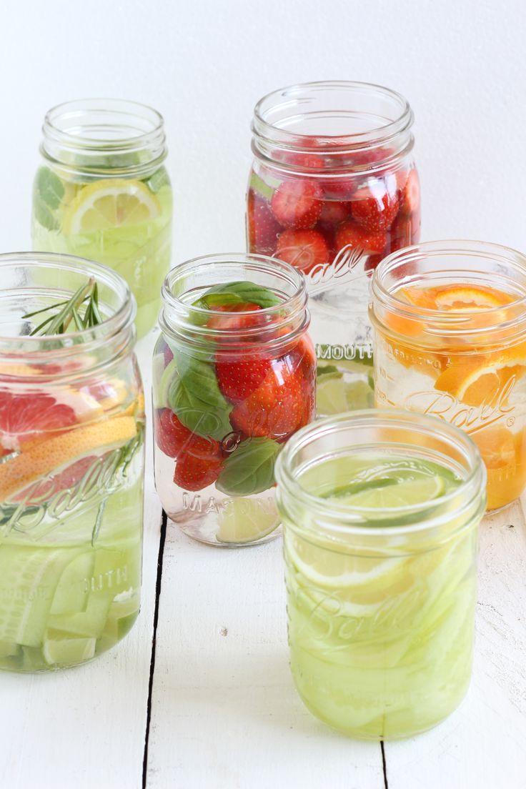 DIY lemonade -infused water www.eatpurelove.nl