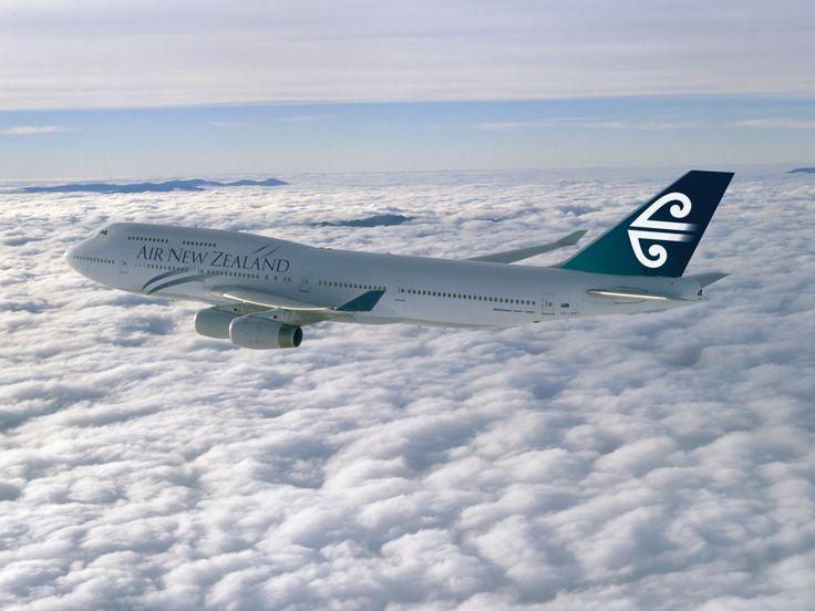 Air New Zealand Boeing 747