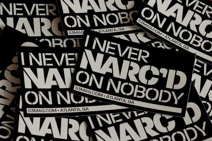 I never narc'd on nobody  -Dom Torreto  (www.stillhood.com)