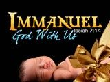 Image for service background Immanuel - God With Us