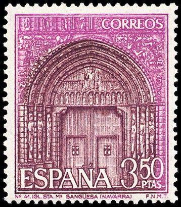 Santa Maria de Sanguesa (Navarra)-1967