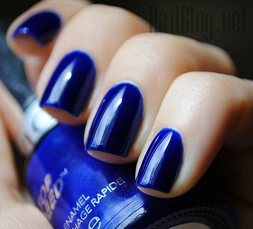 Revlon Royal Nail Polish, A Cobalt Blue Jelly Polish