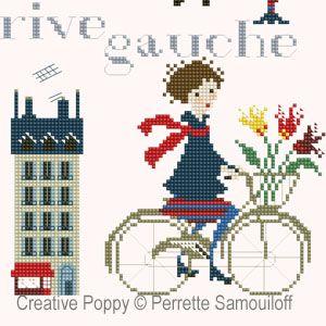 Perrette Samouiloff - Paris Rive Gauche (cross stitch pattern)