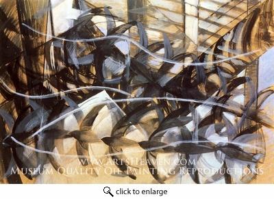 Flight of the Swallows  Giacomo Balla (1913)