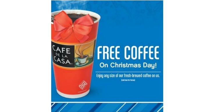 FREE at Stripes Convenience Stores Today Only! (12/25) Enjoy a cup of coffee on us. No Coupon Necessary. If you love freebies, deals, sweepstakes and instant win deals, join my group. Megan's Freebies and Deals. Share This: