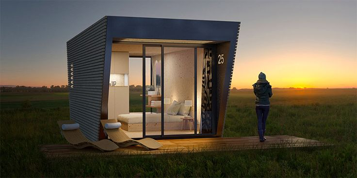 DROP BOX - Un hôtel modulaire et transportable - #Architecture - Visit the website to see all photos http://www.arkko.fr/drop-box-hotel-modulaire/