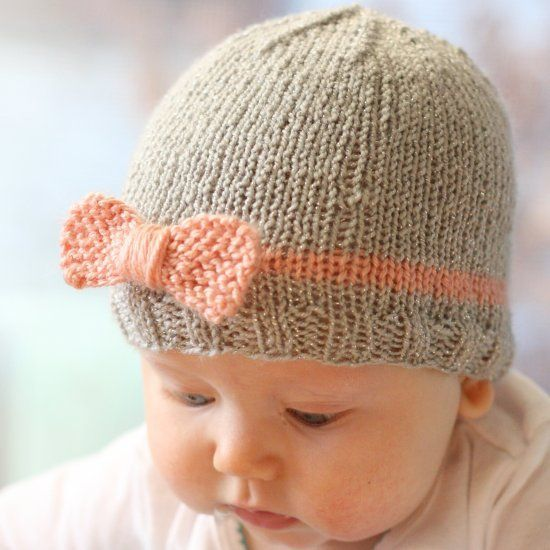 Beginner Hat Knitting Patterns : 555 best images about Beginner Knitting + Crochet on Pinterest Bonnet hat, ...