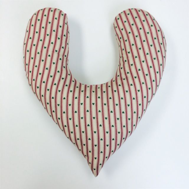 Hands-on-Heart Post Op Pillow with Template and Instructions - love that it's heart shaped.