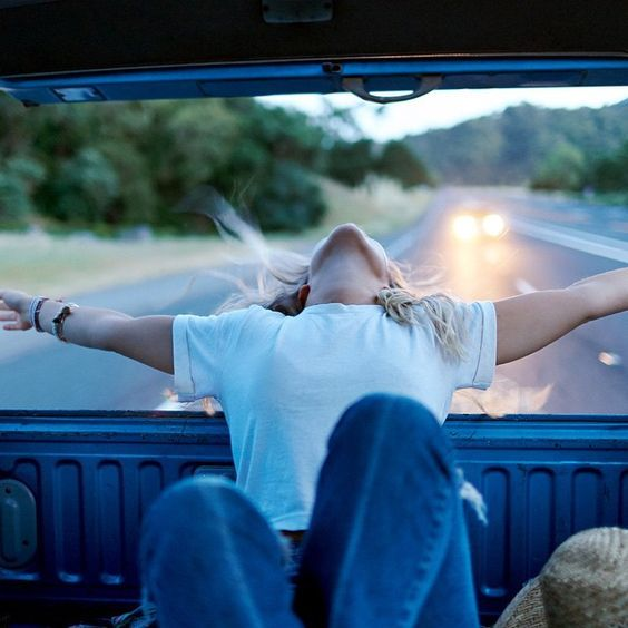 Go on a roadtrip and let loooose.