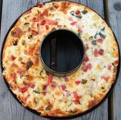 Comer rico y sano: Pastel de coliflor al horno