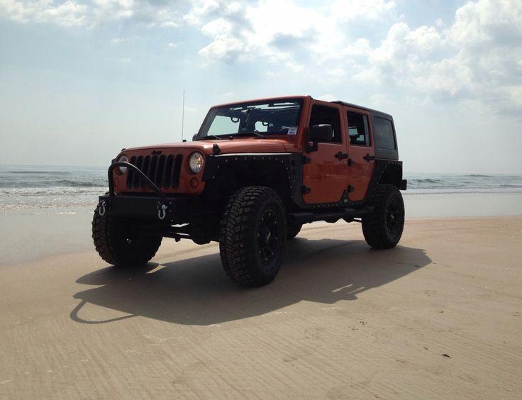 My jk at jeep beach last year