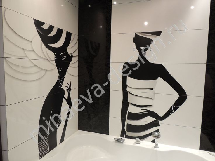 Bathroom design is made in the studio of Olga Minaeva, Russia