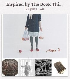 EXAMPLE: Contest board for The Book Thief.