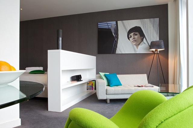 'Mini' studio. Sleek 4* apartments that knock spots off standard hotel rooms. Enjoy great views from the 17th, 18th and 19th floors http://www.stayingcool.com/apartments/show/18/serviced-apartments-birmingham/98/rotunda/mini