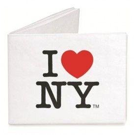 Mighty Wallet - I love NY. De Mighty Wallet van Dynomighty is onverscheurbaar, waterbestendig, recyclebaar en erg milieuvriendelijk. #portemonnee #ny #reiscadeau #cadeau #reizen #wereldreis