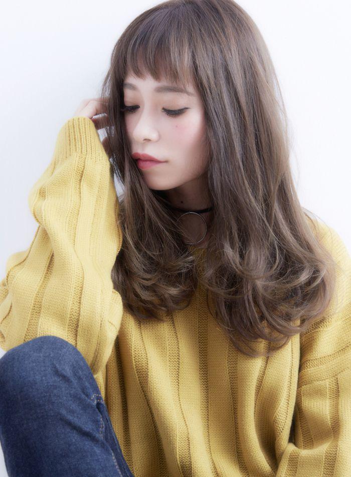 ワンカール☆ミルクティーアッシュ 髪型・ヘアスタイル・ヘアカタログ ビューティーナビ