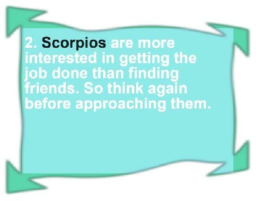 Tomorrow's Scorpio Horoscope