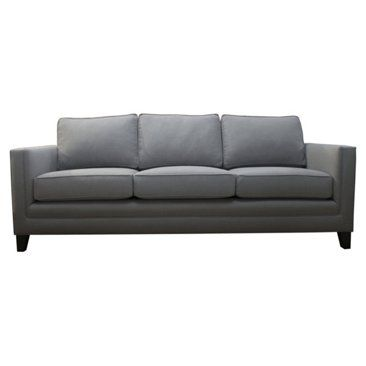 Check out this item at One Kings Lane! Anna Linen Sofa, Gray