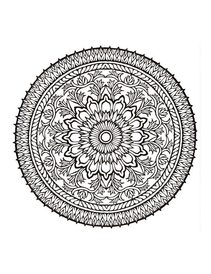 Simple Mandala Coloring Books 66 Mystical Mandala Coloring