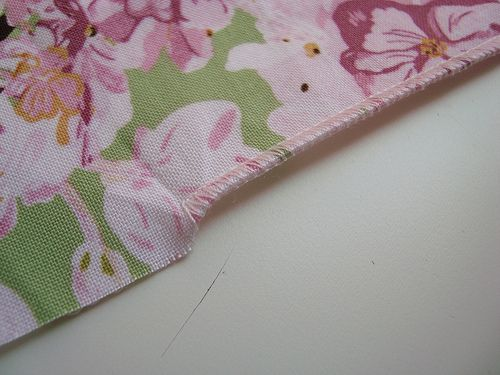 How to do a rolled hem on a serger