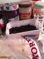 Berber tuiniert| Koudekiemers in de koelkast tussen de jam en de kaas..