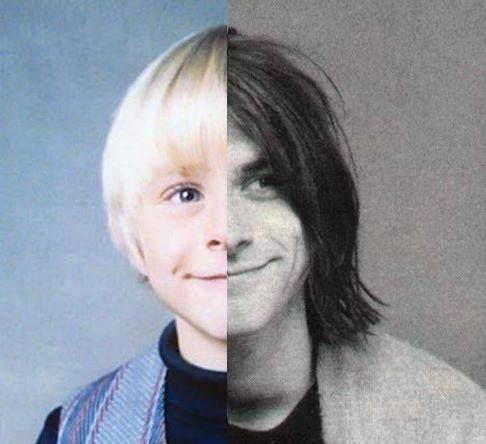Kurt Cobain. This is so cool!                              …