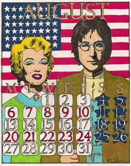 Calendar Drawing Contest : Best ideas about august calendar on pinterest