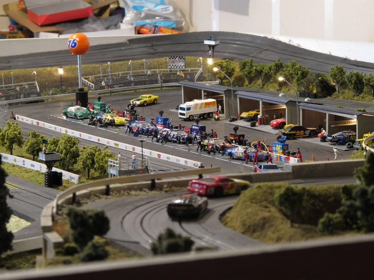 41 Best Slot Car Tracks Images On Pinterest Racing Car And Scenery