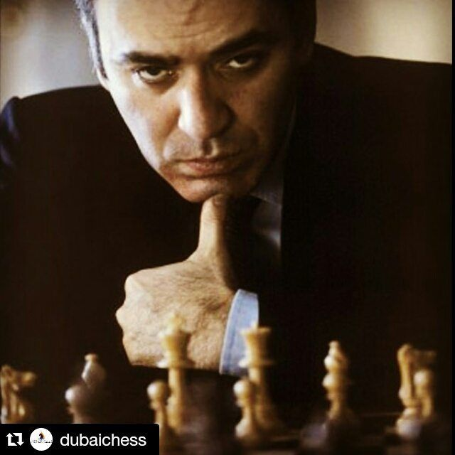 """#Repost @dubaichess - """"Chess strength in general and chess strength in a particular match are by no means the same thing."""" #quote  #chess #kasparov #grandmaster ... #Chess found on Instagram by @WebsterMcN and http://ift.tt/1jHQ4Ht"""