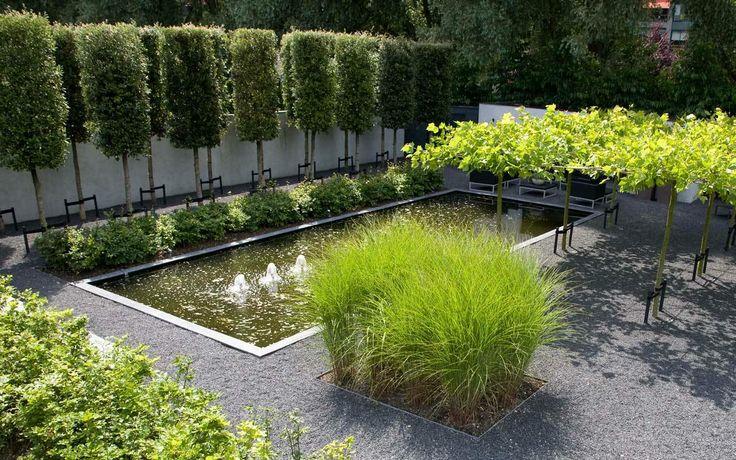 Foto 39 s van diverse aangelegde tuinen martin veltkamp tuinen vijvers pinterest gardens - Foto van tuin vijver ...