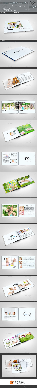 Family & Baby Photo Album Template #design Download: http://graphicriver.net/item/family-baby-photo-album-v02/11477148?ref=ksioks
