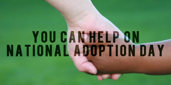 Tomorrow is National Adoption Day! You can actually help. Tommy Nelson writer Meghan Tucker lists some great ways  http://www.faithgateway.com/you-can-help-national-adoption-day/#.Uo-_W2RDuII
