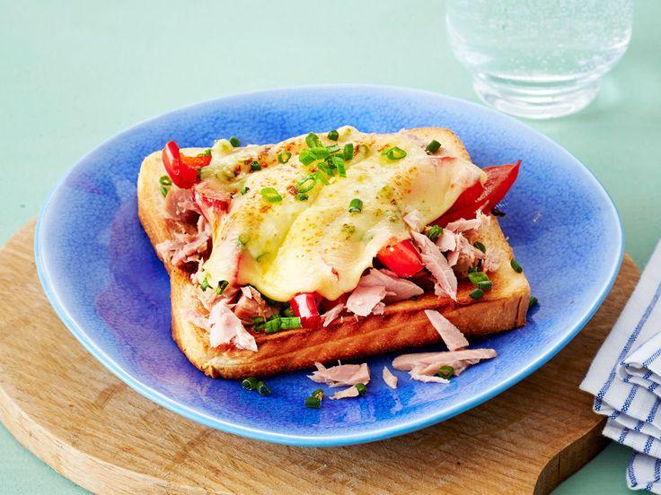 Toast-Rezepte - leicht gemacht, lecker belegt - toast-mit-thunfisch  Rezept